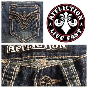 NWOT Affliction Ace Men's Jeans